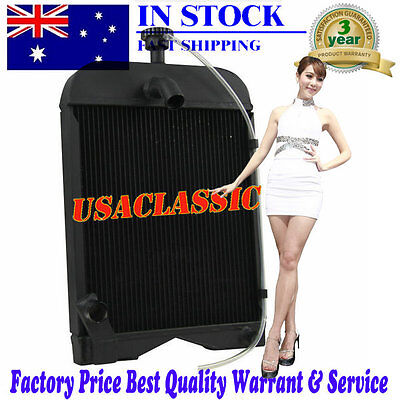 Replaces OEM#8N8005 86551430 3Row Core Tractor Radiator For Ford Models 9N 2N 8N