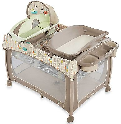 Ingenuity Washable Playard Pack 'n Play Deluxe With Dream Centre in Seneca NEW