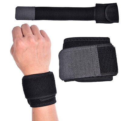 Weight Lifting Wrist Wraps Support Fitness Training Gym Exercise Bandage Straps