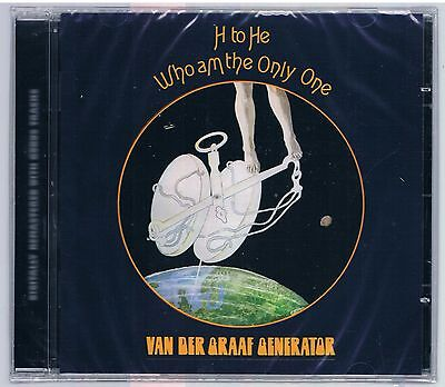 Van Der Graaf Generator H To He Who Am The Only One  Cd Sigillato!!!