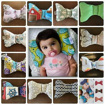 Baby Cushion Head Neck Support Pillow for Safety Car or Airplane Travel NEW
