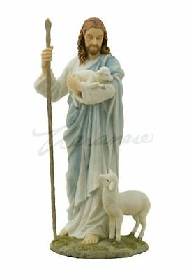 Jesus The Shepherd Statue Sculpture Figurine