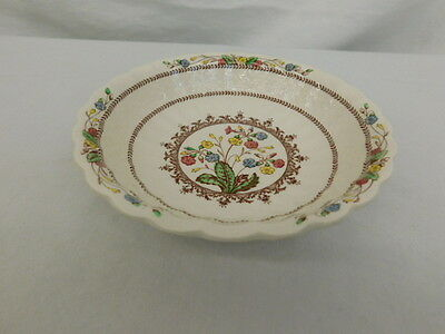 Copeland Spode Cowslipset Of 7 Soup Cereal Fruit Bowl England Floral 6 1/4""