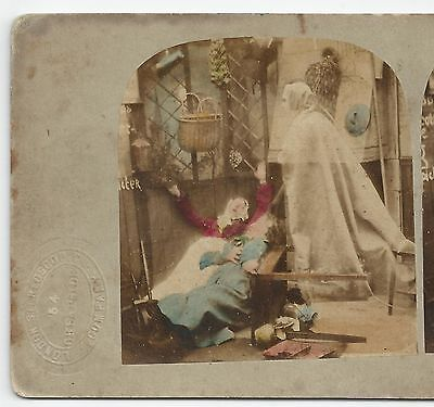 Stereo Stereoview Genre A GHOST London Stereoscopic Company 1850er