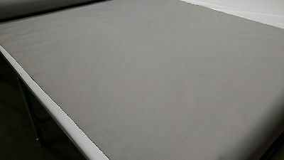 """Light Grey Outdoor Marine Pro Canvas Duck Awning Boat Fabric Polyester 60""""w"""