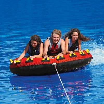 Sportsstuff Frequent Flyer Inflatable Triple Rider Deck Tube  53-1661
