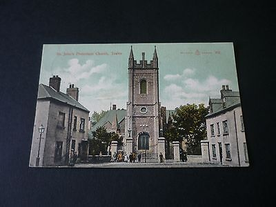 St.John's Protestant Church, TRALEE, County Kerry, Ireland, Vintage Postcard
