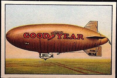 1925 Historic Zeppelin Playing Cards Single Goodyear Airship Classic Americana
