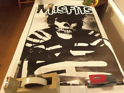 The Misfits 2002 (Crimson Ghost) Poster (35In. Height) (24 In. Wide)