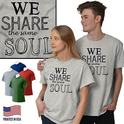 Share Soul Soulmate Cute T Shirt Tee Girlfriend Boyfriend Love T-Shirt Top