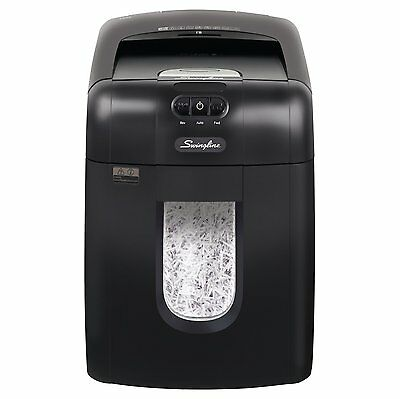 Swingline Paper Shredder, Auto Feed, 130 Sheets Capacity, Super Cross-Cut, 1-2