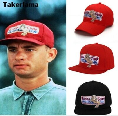 1994 Bubba Gump Shrimp CO. Baseball Hat Forrest Gump Costume Cosplay Embroidered