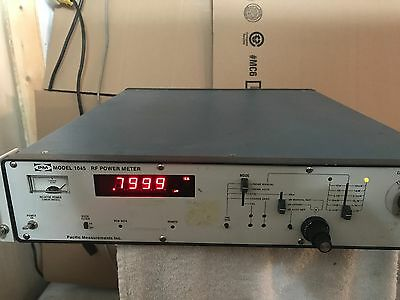 PM Pacific Measurements Inc 1045 RF Power Meter
