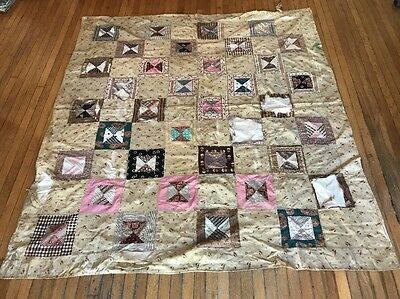 Late 1800s Family Owned Quilt Blanket