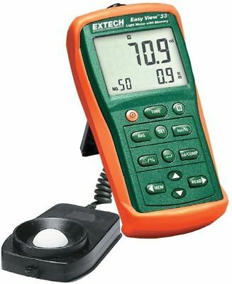 EXTECH EA33, EasyView Light Meter with Memory