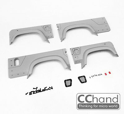 1/10 Defender D110 Wide Fender Kit [Red Point]