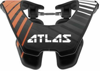 Atlas Brace Youth Tyke Neck Brace Hashtab AT2-06-000 Orange Hashtag 72-1036