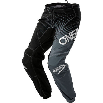 NEW Oneal 2018 MX Gear Element Black Grey Cheap Adult Dirt Bike Motocross Pants