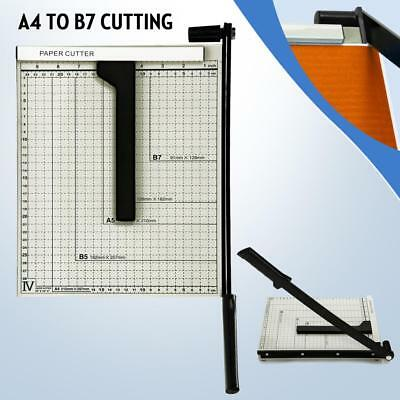 10'' x 12'' Stack Trimmer Paper Cutter Metal Base Home Office Scrap Booking
