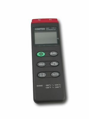 Handheld 2 Channel Thermometer - C301