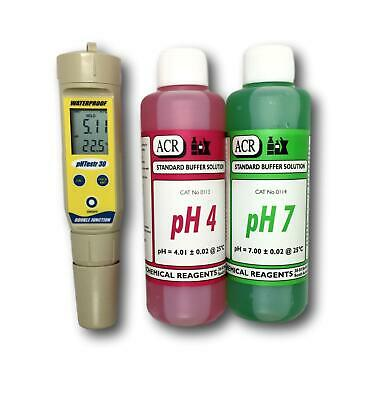 EC-PHTestr20 with pH4 And pH7 Buffer Solution