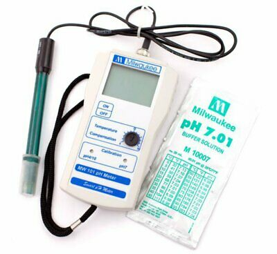 Portable Ph Meter with 2 Point Manual Calibration