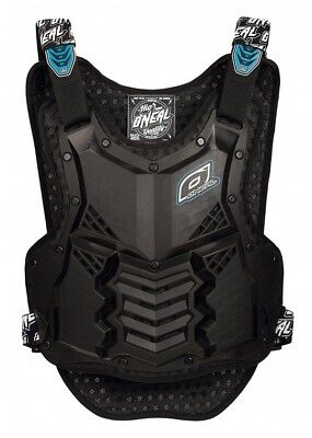 Oneal NEW Mx Holeshot Black Roost Guard Adult Armour Motocross Chest Protector