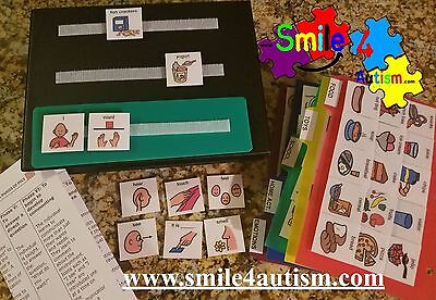 156 Photo Pecs Images Book 4 Autism Aba, Speech Therapy, Add, Language & Apraxia