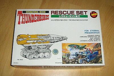 Imai Thunderbirds rescue set The mole & Excavator