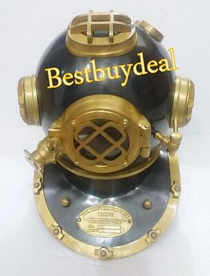 Nautical Collectible 18-Inch Diving Helmet Divers Us Navy Mark V Helmet Gift