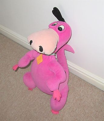 "Official The Flintsones Large Dino The Dinosaur Hanna-Barbera 23"" Soft Toy"