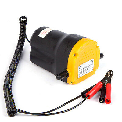 12V 60W Oil Diesel Extractor Suction Pump Transfer Fluid Change Car Motorbike