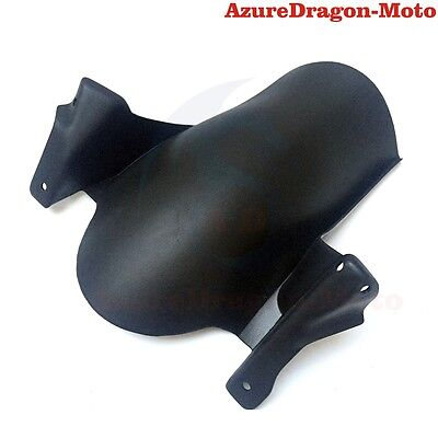 Plastic Black Rear Fender Guard Protector For BMW F 650GS 700GS 800GS 2008-2016