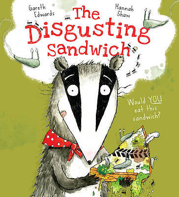 The Disgusting Sandwich by Gareth Edwards BRAND NEW BOOK (Paperback, 2013)