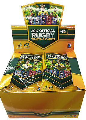 Wallaby & Super 18 2017 Display Box (36 Packs)  - BRAND NEW