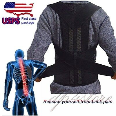 Pain Relief Comfort Posture Corrector and Back Support Brace Physical Therapy