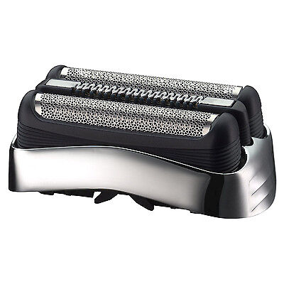 Braun 32S Series 3 Electric Shaver Replacement Foil and Cutter Cassette - Silver