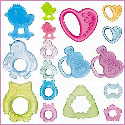 NEW Baby Water Teether Toddler Infant Perfect Soothing Teething Toy BPA Free 0m+