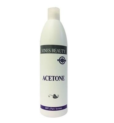 Vines Beauty 100% Pure Acetone Nail Remover for Artifical Nail500ml