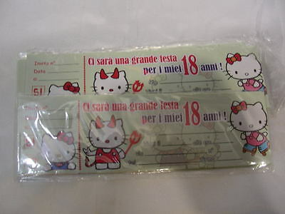 Inviti 18anni Hello Kitty 15pz