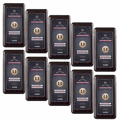 10XWireless Restaurant Call Coaster Pager Receiver for Paging Queuing System TOP