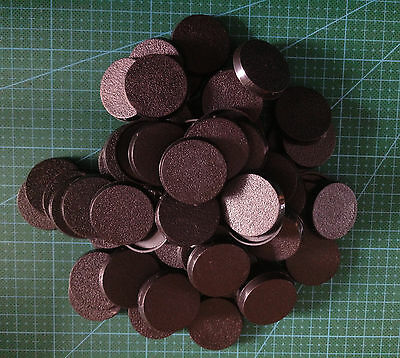 Lot-Of-60-32mm-Round-Bases-For-wargames-table games