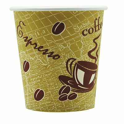Single Wall Paper Cup 8oz Printed (Pack of 50) 8209936 [NP77084]