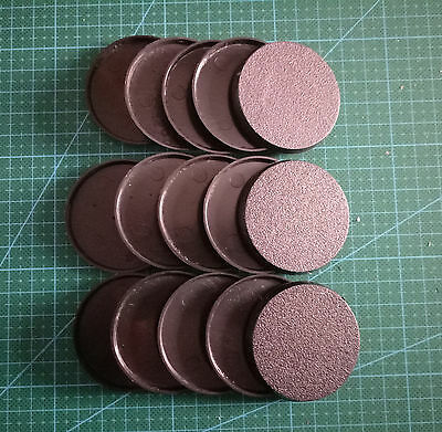 Lot-Of-15-50mm-Round-Bases-For-wargames-table games