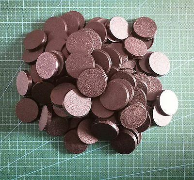 Lot-Of-100-60mm-Round-Bases-For-wargames-table games