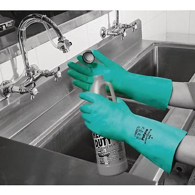 Polyco Nitri-Tech III Flock Lined Nitrile Synthetic Rubber Glove   [HEA80397]