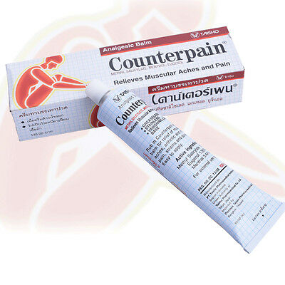 Thailand Counterpain Cream Massager Paste Aches Pain Recovery Hurt Therapy