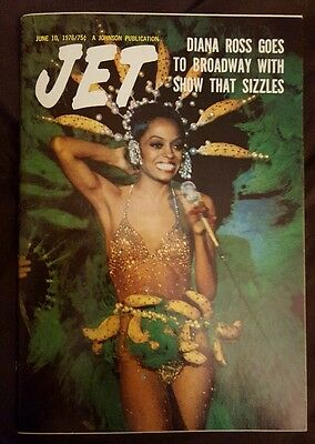 Jet Magazine Exclusive Featuring Diana Ross - June 10, 1976