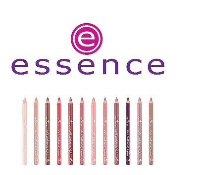 New ESSENCE Long Lasting Pencil LIP LINER Shades for Easy Outlining Your Lips