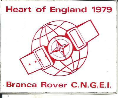 bp 13 Boy scout - Branca Rover C.N.G.E.I. - Heart of England 1979 - Badge